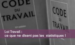 Loi Travail :  ce que ne disent pas les  statistiques !