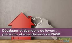 Décalages et abandons de loyers : précisions et amendements de l'IASB