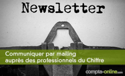 Communiquer par mailing auprès des professionnels du Chiffre