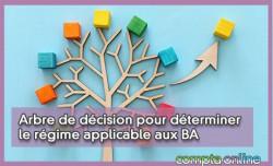 Arbre de décision pour déterminer le régime applicable aux BA