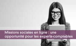 Missions sociales en ligne : une  opportunité pour les experts-comptables