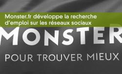 Monster et la recherche d'emploi sur les réseaux sociaux