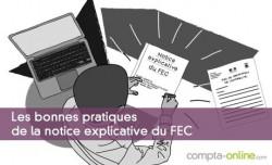 Les bonnes pratiques de la notice explicative du FEC