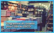 Programme et conseils pour l'UE4 du DSCG