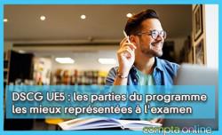 DSCG UE5 : les parties du programme les mieux représentées à l'examen