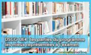 DSCG UE4 : les parties du programme les mieux représentées à l'examen