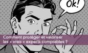 Comment protéger et valoriser les « vrais » experts comptables ?