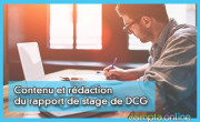 Contenu et rédaction du rapport de stage de DCG