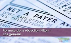 Formule de la réduction Fillon : cas général