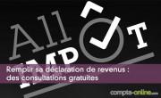Remplir sa déclaration de revenus : des consultations gratuites