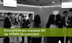 Rencontrer les équipes RH de KPMG recrutement