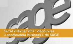 1er et 2 février 2017 : découvrez « accélerateur business » de SAGE