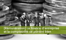 La finance d'entreprise et la comptabilité se portent bien