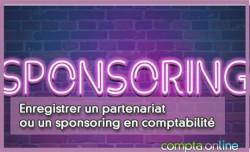 Enregistrer un partenariat ou un sponsoring en comptabilité