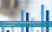 Les statistiques nationales du DSCG par session