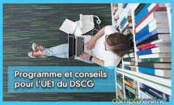 Programme et conseils pour l'UE1 du DSCG