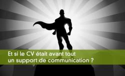 Le cv comme support de communication