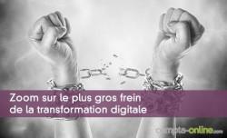 Zoom sur le plus gros frein de la transformation digitale