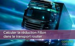 Calculer la réduction Fillon dans le transport routier