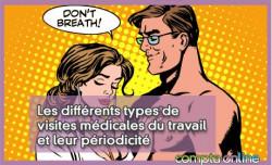 Les différents types de visites médicales du travail et leur périodicité