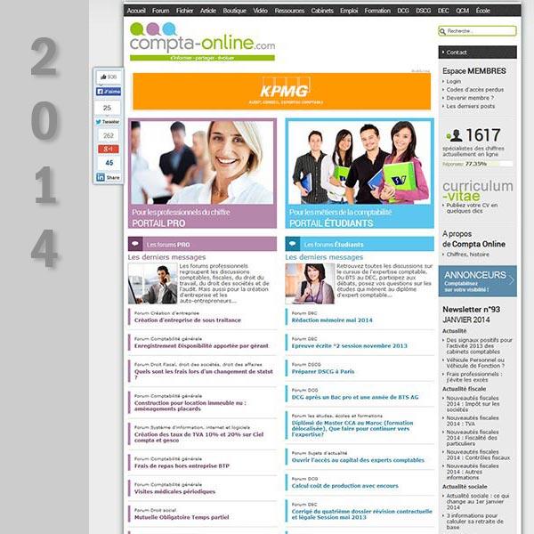 Compta Online en 2014