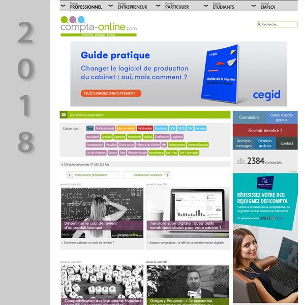 Compta Online en 2018