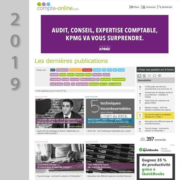 Compta Online en 2019
