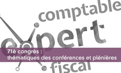 71è congrès : thématiques des conférences et plénières