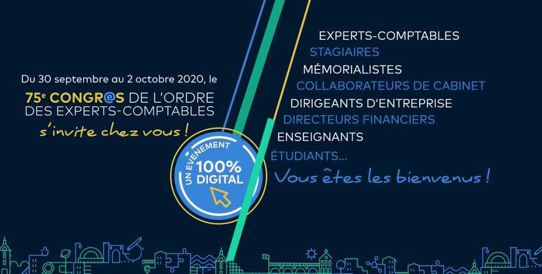 « Ce congrès virtuel est une formidable opportunité pour les futurs experts-comptables ! »