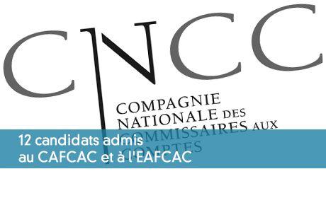 12 candidats admis au CAFCAC et à l'EAFCAC