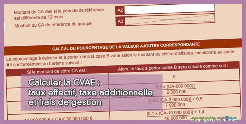 Calcul de CVAE 2021