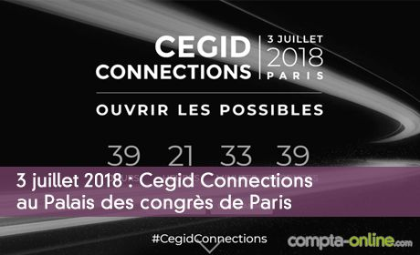 3 juillet 2018 : Cegid Connections au Palais des congrès de Paris