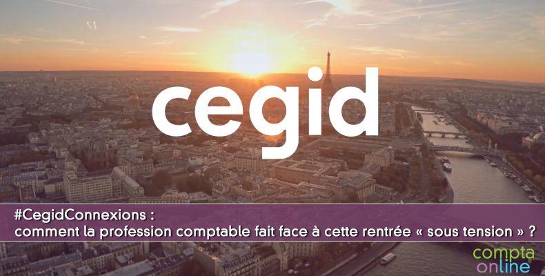Cegid Connexions Experts-Comptables :  Web TV le 9 septembre 2020 de 12h à 13h