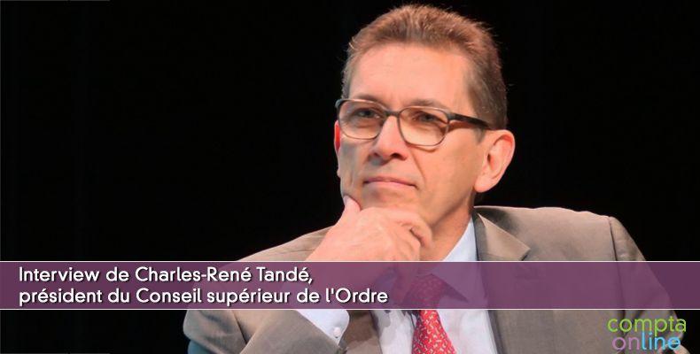 Interview du président du Conseil supérieur de l'Ordre