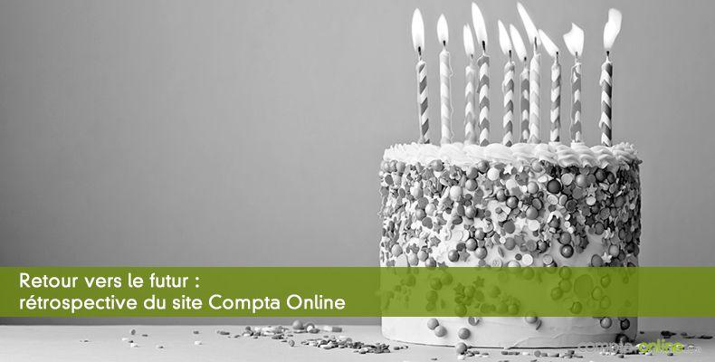 Retour vers le futur :  rétrospective du site Compta Online