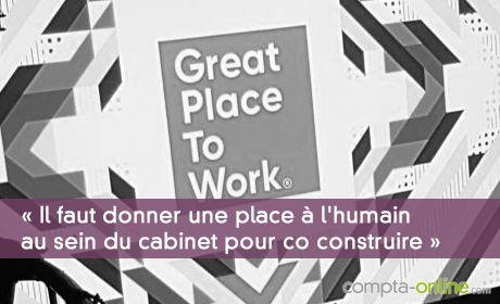 « Il faut donner une place à l'humain au sein du cabinet pour co construire »
