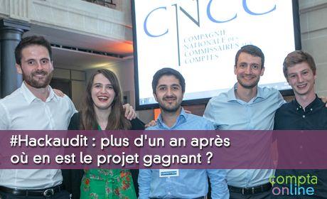 #Hackaudit : plus d'un an après où en est le projet gagnant ?