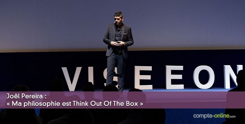 Joël Pereira : « Ma philosophie est Think Out Of The Box »
