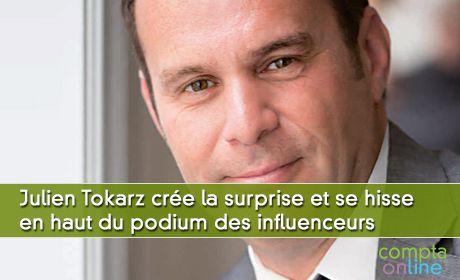#ClassementEC Julien Tokarz crée la surprise et se hisse en haut du podium des influenceurs sur Twitter