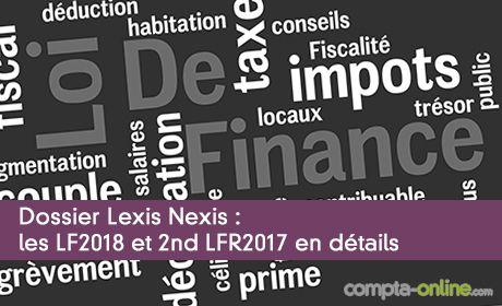Les LF2018 et 2nd LFR2017 en détails