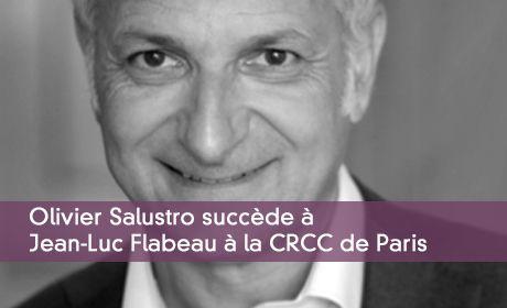 Olivier Salustro succède à  Jean-Luc Flabeau à la CRCC de Paris