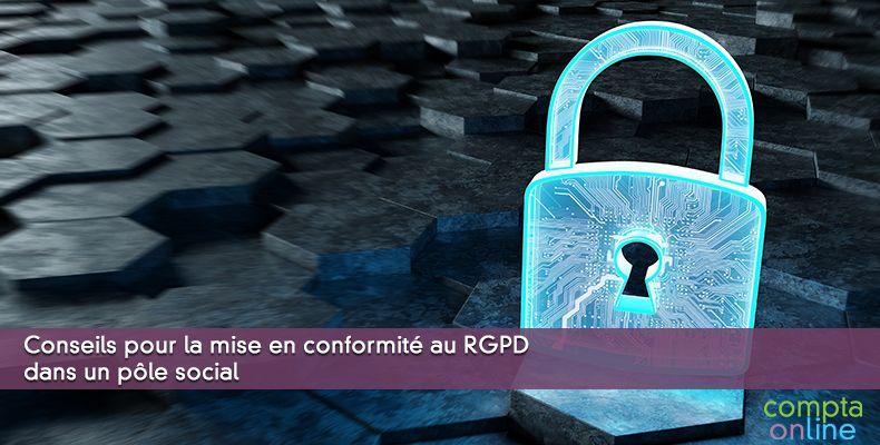 Conseils pour la mise en conformité au RGPD dans un pôle social