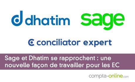 Sage et Dhatim se rapprochent : une nouvelle façon de travailler pour les experts- comptables