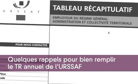 tableau recapitulatif urssaf 2014
