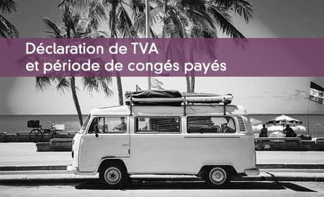 TVA et congés payés