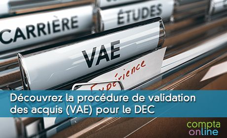 La procédure de VAE du DEC