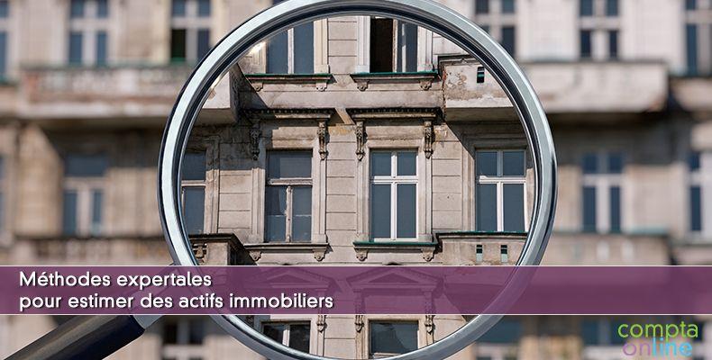 Estimation des actifs immobiliers