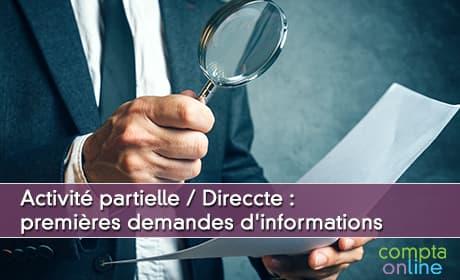 Activité partielle / Direccte