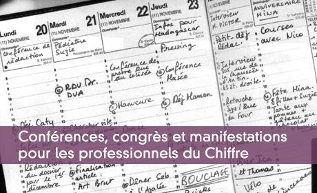 Agenda des professionnels du Chiffre