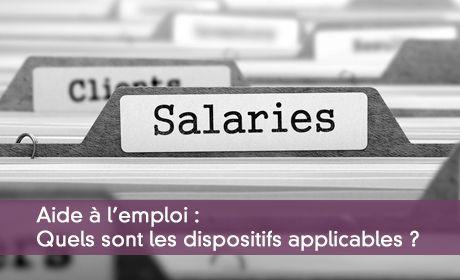 Les aides à l'embauche d'un salarié